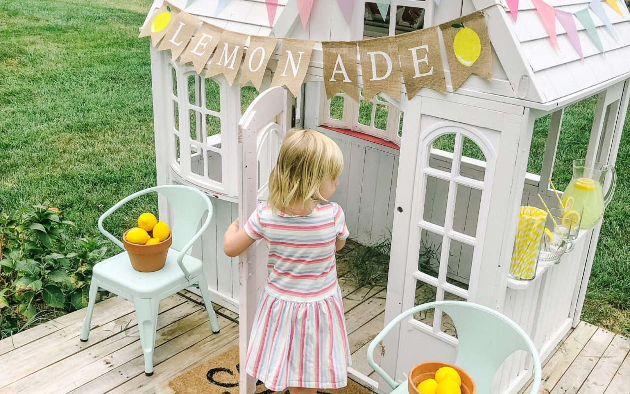 Landyn's Lemonade: When Life Hands You Lemons, Make a Lemonade Stand!