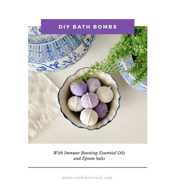 DIY Essential Oil Bath Bombs